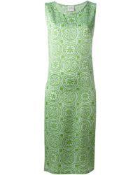 Sybilla | Pattern Dress Silk Shift Dress | Lyst