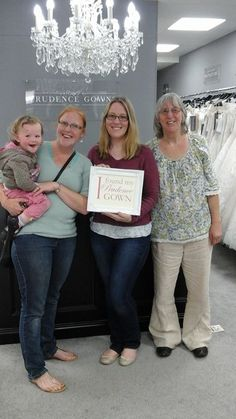 Our new Naomi found her in our store today. Prudence Gowns, Exeter, Devon, Brides, Store, Wedding Dresses, Bride Dresses, Tent, Shop Local