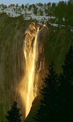 beautymothernature: Horsetail Falls in Y mother nature moments