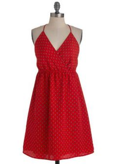 Carmine and Yours Red Dress