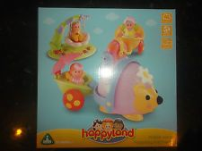 New Happyland ELC Wobble Along Hedgehog And Friends Slightly Damaged Box.
