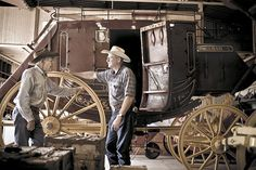 Jay Brown Stagecoaches, Weatherford TX (Portrait of an American Craftsman by Tadd Myers) Weatherford Tx, American Craftsman, Jay, History, Portrait, Brown, Projects, Handmade, Texas
