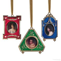 Christmas Ornaments for your Tree by theburrowantiquesandcollectibles