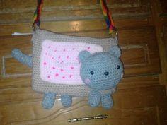 amigurumi Nyan Cat Bag