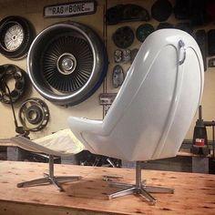Cadeira de capô de Fusca