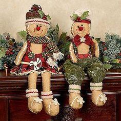 #Gingerbread #Christmas #ShelfSitters, #Gingerbread #Decor, #Whimsical Christmas…