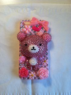 Rilakkuma iphone 5 phone case from my shop on Etsy- Cherbearphonecases