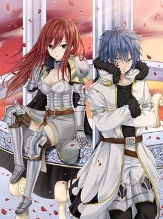 Fairy tail// Erza and Jellal (Jerza)