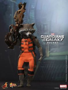 Rocket Raccoon Guardians of the Galaxy by Hot Toys