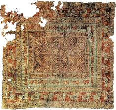 The oldest surviving carpet is the celebrated Pazyryk carpet, which is over 2,000 years old. It was found in the 1940s in a Scythian tomb in southern Siberia.