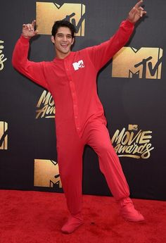 Just when you thought Tyler Posey couldn't get anymore adorable.
