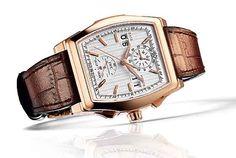 Da Vinci Perpetual Calendar Digital Date-Month Rose gld Silver-plated dial Ref IW376107