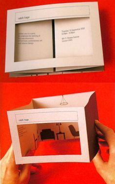 invitation box interactive brand opening - Google Search