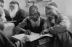 """Yemenite Rabbis at Rachel`s Tomb"" Jerusalem, 1906"