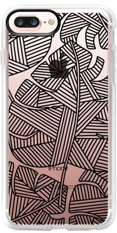 Casetify iPhone 7 Plus Case and iPhone 7 Cases. Other Plant iPhone Covers - Geometric Palm Leaf by Frost Design Co. | Casetify