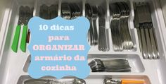 10 dicas para organizar o armário