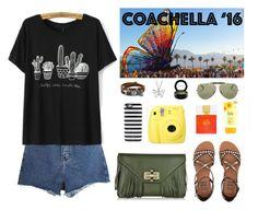"""Coachella 2016"" by shoujoandmore ❤ liked on Polyvore featuring Momewear, BillyTheTree, Diane Von Furstenberg, La Preciosa, Billabong, Kate Spade, Ray-Ban, MAC Cosmetics and packforcoachella"