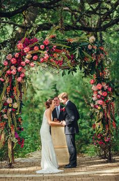 27 Beautiful Floral Wedding Arches To Swoon Over 🌟💡💖Wedding Arbor flowers #wedding #ceremony #weddingarch #floralarch