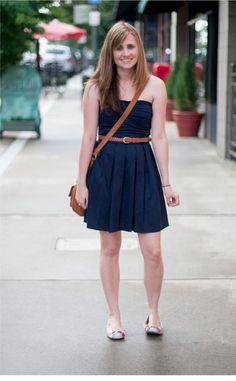 Asheville, NC street fashion    #Style #Fashion #StreetStyle #Womenswear #Dress #Belt #Asheville #NC #NorthCarolina