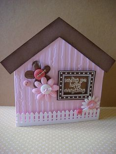 happy everything cottage card | Flickr - Photo Sharing!