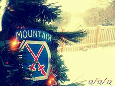 10th Mont. Division, Fort Drum NY.
