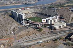 Sun Devil Stadium. Home of the Arizona State University Sun Devils.  www.azhomebuyerinfo.com
