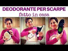 DEODORANTE DISINFETTANTE PER SCARPE FATTO IN CASA - diy shoe deodorizer
