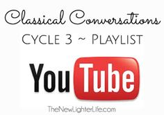 Classical Conversations Cycle 3 YouTube Playlists, all weeks.