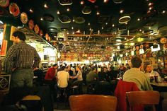 Delirium Cafe in Brussels, Belgium Most beers available in the world... try the Tangerlo Christmas beer <3