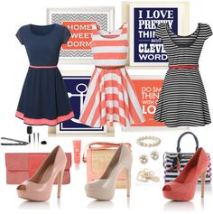 """A Very Preppy Summer"" by heather-peace on Polyvore"