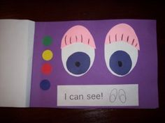 Here's a great idea for creating a five senses booklet.