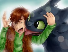 Forbidden Friendship < Hiccup and Toothless. :)