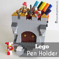 A Typical English Home: Lego Pen Holder