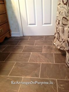 Option 1This is my favorite for downstairs linoleum floor