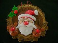 adornos para navidad en porcelana fria - Buscar con Google