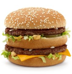 """McDonald's secret Special Sauce is not a secret? But you, too, can make a Big Mac at home. McDonald's Executive Chef Dan """"nothing on our menu is unhealthy"""" Coudreaut shows you how. Big Mac Special Sauce Recipe, Mcdonalds Calories, Mcdonalds Special, Mcdonalds Coupons, Free Mcdonalds, Homemade Big Mac, Mac Recipe, Best Short Haircuts, Latest Haircuts"""