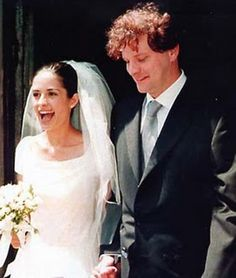 Vogue Wedding - our favorite couples: Colin Firth & Livia Giuggioli. Click on the image to see more.