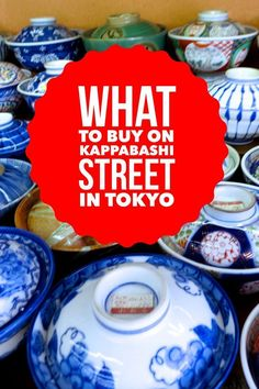 Kappabashi Street is an amazing street in Tokyo with dozens of stores catering to chefs and home cooks.