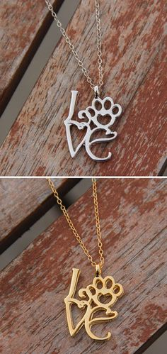 I gotta have this!!! http://theilovedogssite.com/product/love-paw-silver/