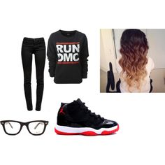"""""""Bred's 11"""" by kaylenstar on Polyvore"""