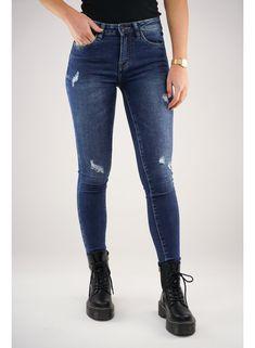 Jeans Queen hearts zwart Stoer en Chique