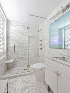 Nice 50 Most Amazing Wall Bathroom Design Ideas. More at https://trendyhomy.com/2018/06/24/50-most-amazing-wall-bathroom-design-ideas/