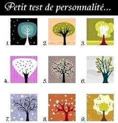 Petit test de personnalité amusant : regardez ces arbres et choisissez le premier qui vous parle, qui attire votre regard. Ne pensez pas et choisissez rapidement sans analyser. Lisez ensuite la description qui va avec l'illustration que vous avez choisie… . . . . . . Est-ce que ça a fonctionné pour vous ? 1 …