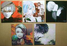 Tokyo Ghoul :re Coaster x5 Shu Ken Kaneki Toka Kirishima Arima Amon Anime F/S