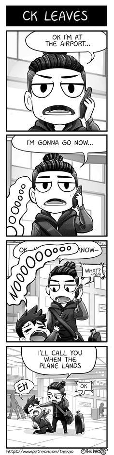 Mondo Mango :: CK Leaves   Tapastic Comics - image 1