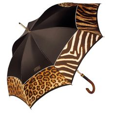 Animal Print Umbrella..I want this!!