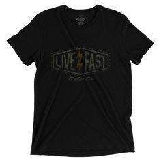 live fast motor. Bad To The Bone, Mens Tops, Live, Fashion, Moda, Fashion Styles, Fashion Illustrations