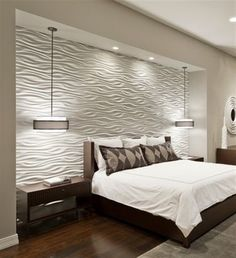 When we say textured walls, we mean those popular 3D walls that give a special accent to the interior. Nowadays, these textured walls are extremely used