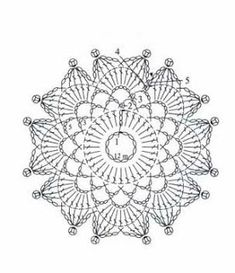 Crochet Mandala Square Dream Catchers Ideas For 2019 Motifs Granny Square, Granny Square Crochet Pattern, Crochet Diagram, Crochet Chart, Crochet Squares, Thread Crochet, Crochet Doilies, Crochet Flowers, Crochet Stitches