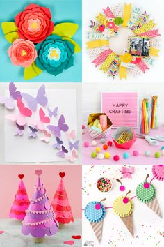 New 5 pack Unicorn Stickers for Kids Craft Decoration Card-Making party gift